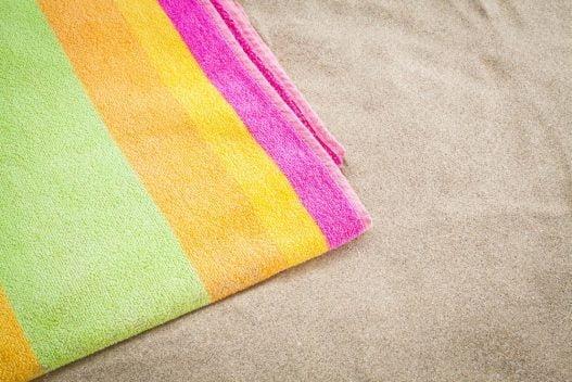 Strandhåndklæde